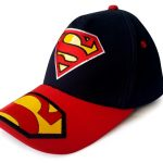 topi superman hitam