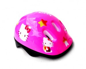 Helm motif hello kitty hk pink