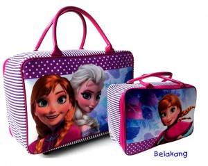 tas tarvel bag tenteng frozen polkadot 300x239 Travel Bag Tenteng
