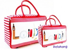 tas travel bag tenteng london jam