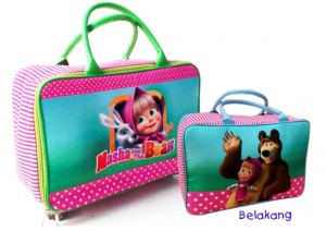 travel bag masrha and the bears