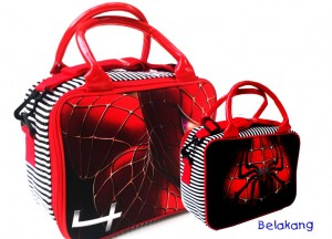travel tenteng mini spiderman