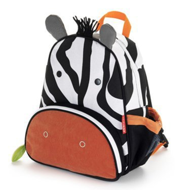 tas skiphop back pack zebra