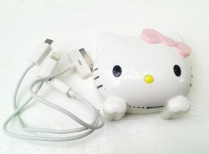 power bank kepala hello kitty