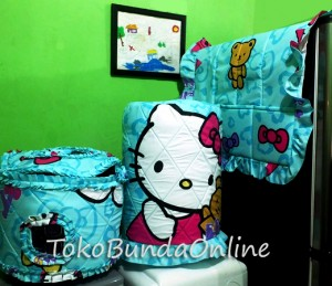 Tutup galon, Kulkas dan Magic com (GKM) Hello Kitty Biru