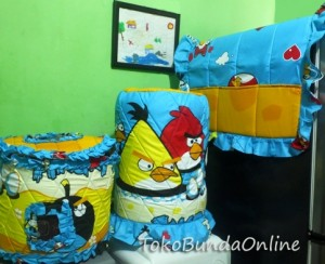 Tutup Galon, Kulkas dan tutup Magic com (GKM) angry bird biru