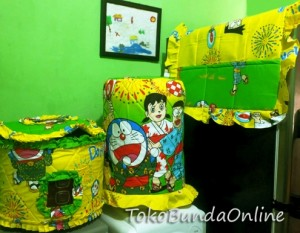 Tutup Galon, Kulkas dan tutup magic doraemon yukata