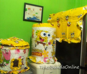 Tutup Galon Kulkas dan Magic kom (gkm) spongebob kuning