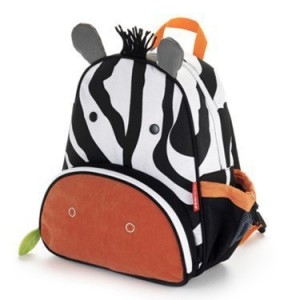 Tas Anak skiphop backpack model zebra