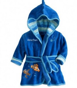 handuk bathrobe disney nemo