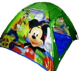 TENDA DISNEY HIJAU Tenda Out Door Anak