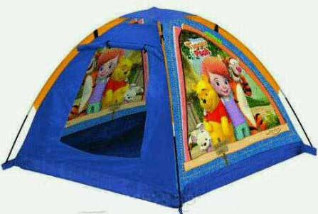 TENDA POOH ANAK Tenda Out Door Anak