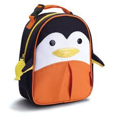 tas skiphop pinguin lunch bag