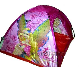 tenda anak barbie pink