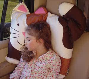 doo magic pillow case cat