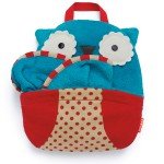 selimut travelling skiphop travel blanket owl tutup
