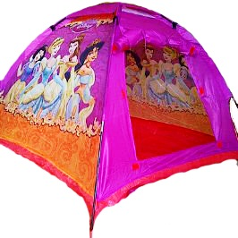 tenda anak princess ungu