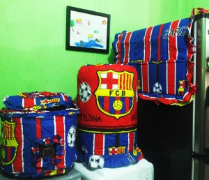 tutup galon set GKM Barca Bew