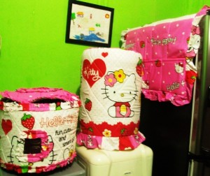 tutup galon set GKM HK Strawberry Pink