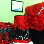 tutup galon set GKM Rose in Black New