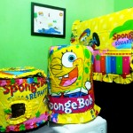 tutup galon set GKM Spongebob Rainbow