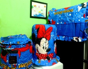 tutup Galon kulkas GKM Mickey wonderland