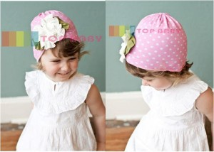cute hat pink polkadot 300x214 Cute Hats (Topi Lucu)