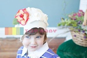 cute hat white flowers yekllow 300x200 Cute Hats (Topi Lucu)