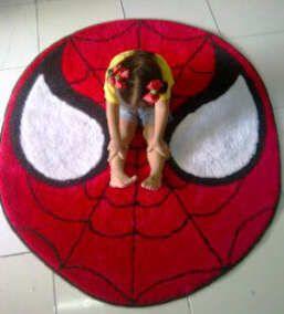 karpet spiderman