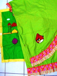 mukena Angry Bird 224x300 Mukena Anak Lucu