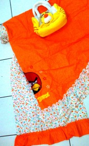 mukena angry bird orange 183x300 Mukena Anak Lucu