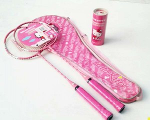 raket set Hello kitty