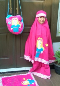 Mukena Princess Ara 209x300 Mukena Anak Lucu