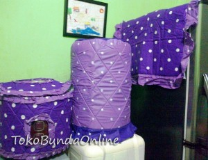 Tutup galon Kulkas Magic (GKM) Dotie Lylac Mix Purple