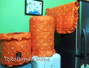 Tutup galon Kulkas Magic (GKM) Dotie Orange