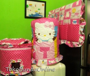 tutup galon kulkas dan magic com (GKM ) Hello Kitty Box pink