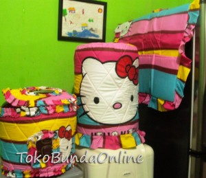 tutup galon kulkas dan magic com (GKM ) Hello Kitty Pelangi