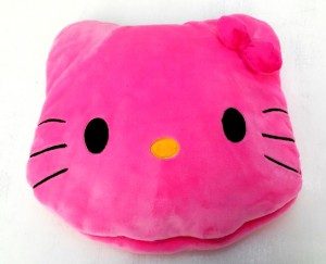 bantal selimut hello kitty impor