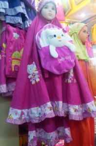 Mukena Anak Murah Hello Kitty