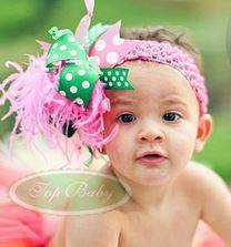 big flower 3 Cute Headband   Bandana anak Lucu