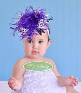 big flower 8 261x300 Cute Headband   Bandana anak Lucu
