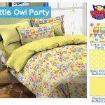 Sprei Owl Party Kuning
