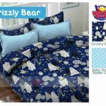 Sprei Srizzly Bear
