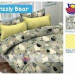 Sprei Grizzly Bear