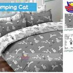 Sprei Jumping Cat