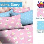 Sprei Bedtime Story Pink