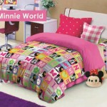 Sprei Minnie World