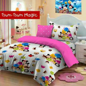Sprei Tsum Tsum Magic