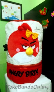 galon 3d angry bird 178x300 Tutup Galon 3 Dimensi