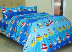 sprei dan bedcover little sailor